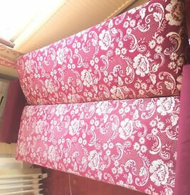 URGENT Sofa bed with storage (retro/ vintage/ shabby chic)