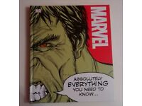 Marvel Absolutely Everything You Need To Know Hardback Childrens Book New