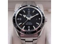 Omega Seamaster Planet Ocean Co-Axial Gents Watch Black 2900.50.81 **Buy Online**