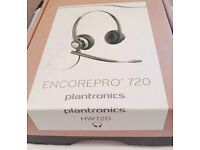 Plantronics On-Ear Headset NEW AND SEALED (FREE POSTING)