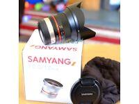 Samyang ultra wide lens Fuji X mount