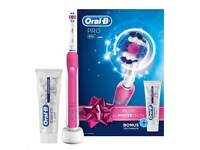 Oral B Pro Electric Toothbrush & Toothpaste Gift Set