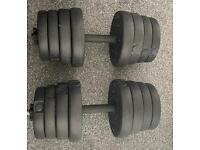 30kg dumbbells (15kg each)