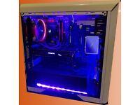 Powerful VR Gaming Desktop - Intel i5-4690k WaterCooled - GTX 1060 GPU 8GB RAM - 1TB SSD + MONITOR