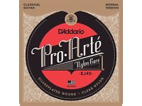 D'Addario EJ45 Pro-Arte Normal Tension (.028-.043) Classical Guitar Strings cheap