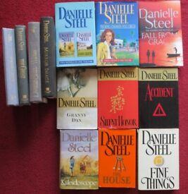 DANIELLE STEEL, large selection books, £1.00 per book, titles in description, good condition