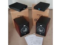 Focal Solo 6BE Speakers (Pair) with Primacoustic RX7-HF Stabilisers