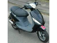 2007 reg piaggio zip 100 cc 4 stroke long mot learner leagel ideal commuter/work scooter