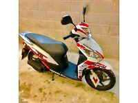 Scooter 50cc - Honda repsol sport model moped/scooter ( limited edition )