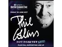 2 x Phil Collins (Gold Circle) Tickets - Fri 30 June 2017, Hyde Park