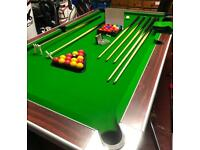 Slate Bed Pool Table 7ft x 4ft