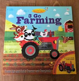 3 Go Farming book and tractor