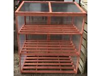 Large Garden Cold Frame Plant Storage Frost Protection