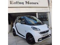 2014 SMART FORTWO GRANDSTYLE CABRIOLET TURBO 84BHP,SAT NAV,LEATHER,1 OWNER,FULL HISTORY, WARRANTY,AC