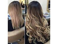 Hair extensions 5A, 7A the very best quality you can get! From £210 rrp £450