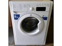 Indesit 8KG Washing Machine - 6 Months Warranty - £140