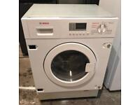 DIGITAL BOSCH VERY NICE INTEGRATOR WASHER & DRYER 3 MONTH WARRANTY, FREE INSTALLATION