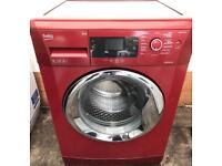 Red Beko new model 9KG washing machine free delivery