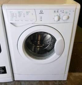 White Indesit Washing Machine - 6 Months Warranty - £120