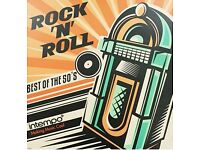 Rock 'N' Roll Best Of The 50's BRAND NEW AND SEALED LP ELVIS ORBISON BERRY QUALITY VINYL