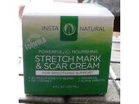 INSTANATURAL STRETCH MARK & SCAR CREAM.