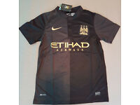 Man city 14-15 away shirt S,M,L,XL