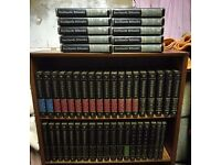 Stunning 48 book set of Encyclopedia Britannica Excellent condition