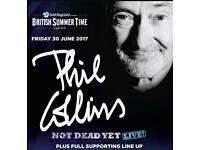 2 Phil collins tickets