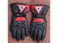 Dainese Gortex motorbike gloves
