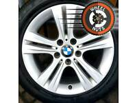 "17"" Genuine BMW 3 ser Trafic Vivaro alloys excel Goodyears."