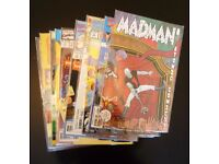 Grab bag of 10 collectible comic books. (Madman/E.T.C.)