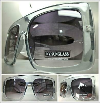 OVERSIZED EXAGGERATED VINTAGE RETRO Style SUN GLASSES XL Huge Jumbo Gray (Giant Vintage Glasses)