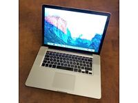 "Apple MacBook Pro A1286 15.4"" – Mid 2012 box"