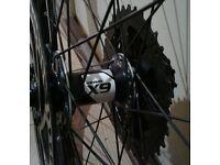 29 inch rear mountain bike wheel