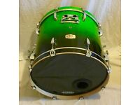Pearl ELX Green Fade Drum Kit + Cymbals, Hardware & More!