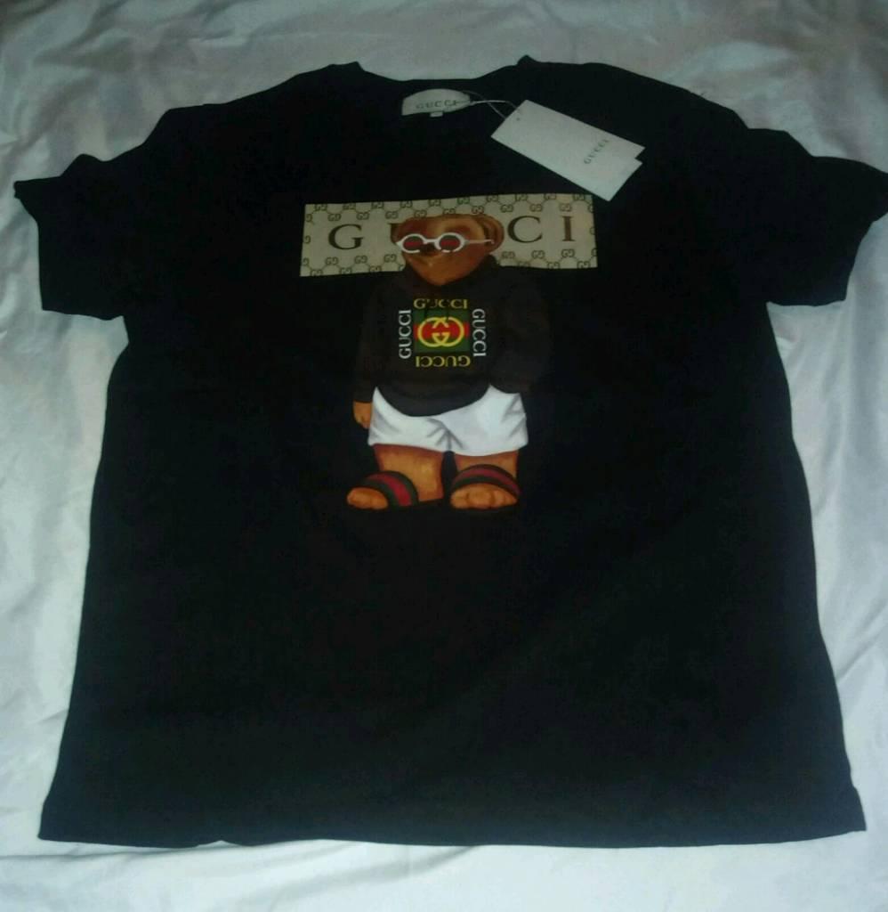 bec41c2b365 Teddy bear Gucci t-shirt - BLACK