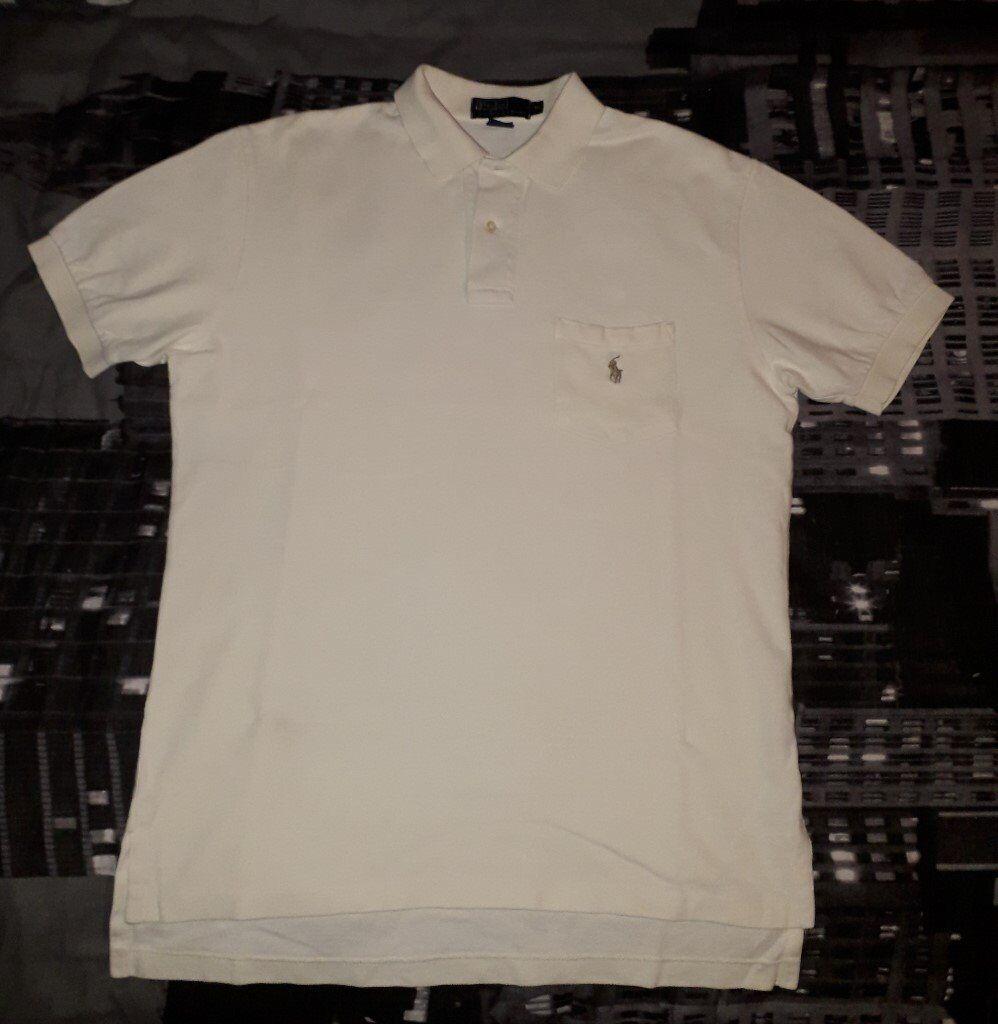 Mens Ralph Lauren Polo Shirt Size Uk Medium In Larkhall South