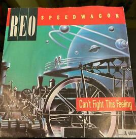 REO Speedwagon Can't fight this feeling 7 inch