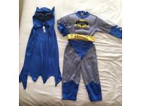 Kids Batman Costume age 3-4