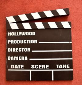 Hollywood Clapperboard Wall Decoration