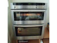 Neff Integrated Built in Under Counter Electric Double Oven. U1722N0GB/10