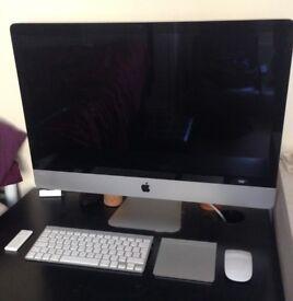 """Apple iMac 27"""" Desktop - Late, 2009, 16gb Ram with apple accessories bundle."""