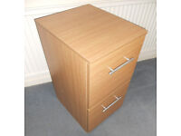 Two Drawer Filing Cabinet - Slimline - Suits A4