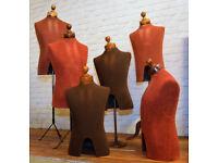 Vintage mid century mannequin shop display decor retro industrial advertising haberdashey antique