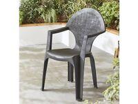 Garden chairs new