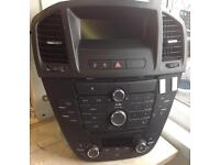 Vauxhall Insignia CD400 Full unit and Screen.