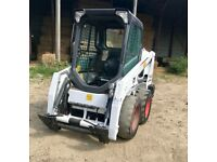 Skid steer bobcat s450 580 hours on the clock four new tyres brilliant condition