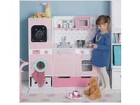 Great little trading co pink gumdrop play kitchen with all accessories