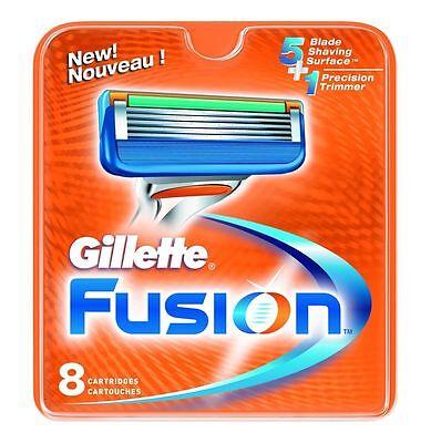 Gillette Fusion Refill Razor Blade Cartridges, 8 Ct.