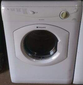 HOTPOINT 6KG VENTED DRYER -IN GOOD WORKING ORDER